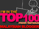The Top 100 Malaysian Blogger